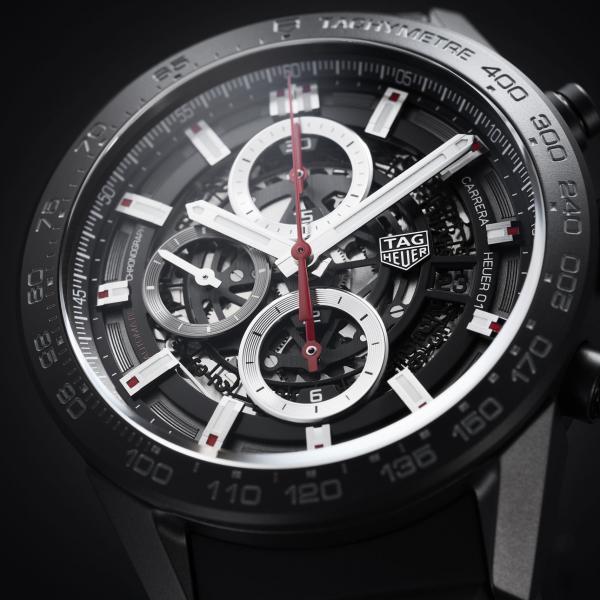 TAG Heuer Carrera 01 Black Ceramic 43mm