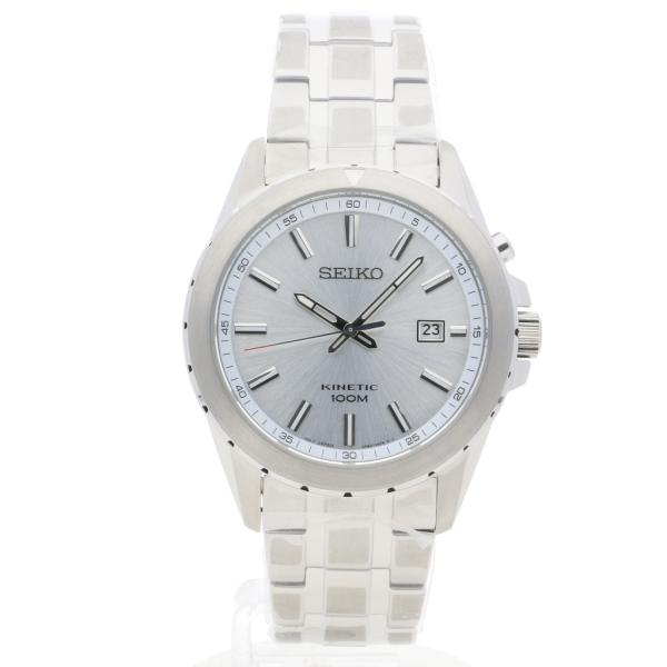 Seiko Kinetic Silver | AMJ Watches