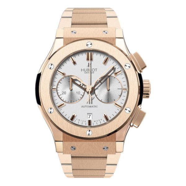 Hublot Classic Fusion Chronograph King Gold Opalin