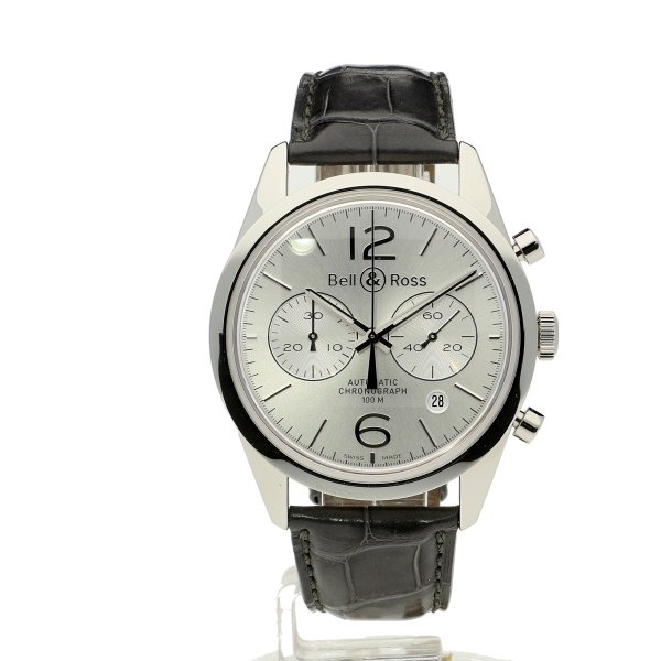 Bell & Ross BR126 Officer Silver