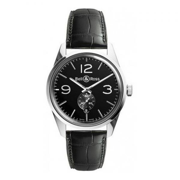 Bell & Ross BR123 Officer Black
