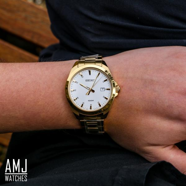 Seiko Quartz Gold