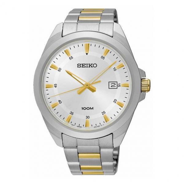 Seiko Quartz Two-Tone