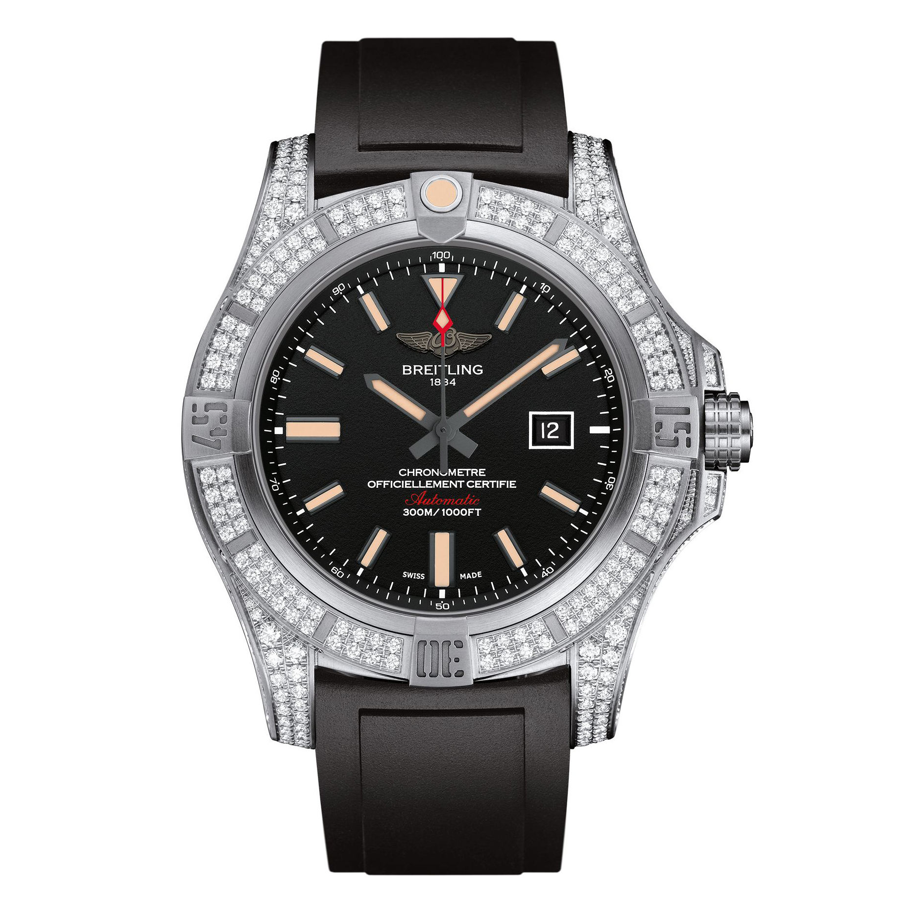 Breitling Avenger Blackbird Diamondworks
