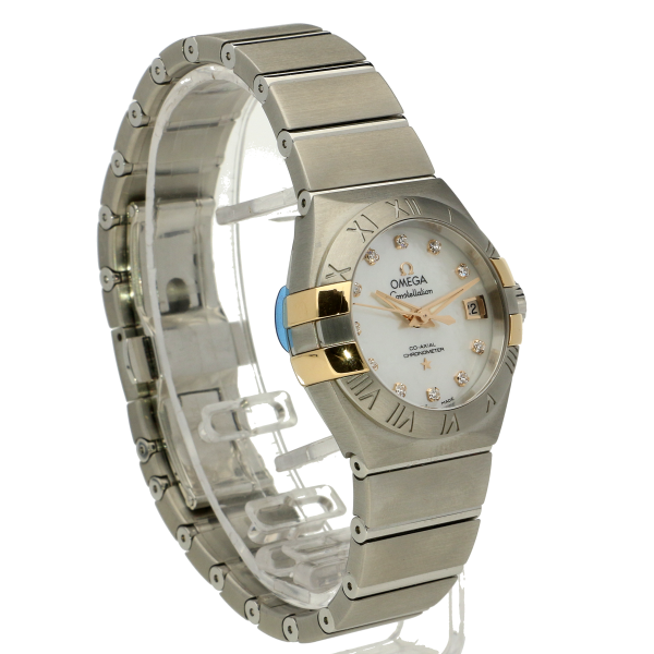 Omega Constellation Co-Axial Mother Of Pearl Dial