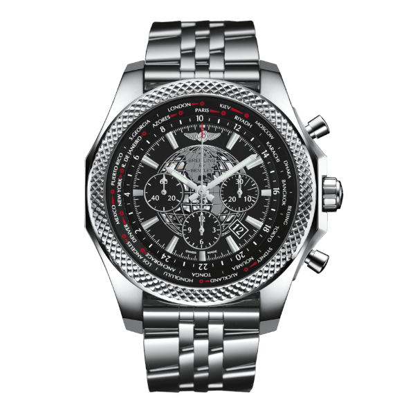 Breitling Bentley B05 Unitime Black Speed Stainless Steel Folding Clasp