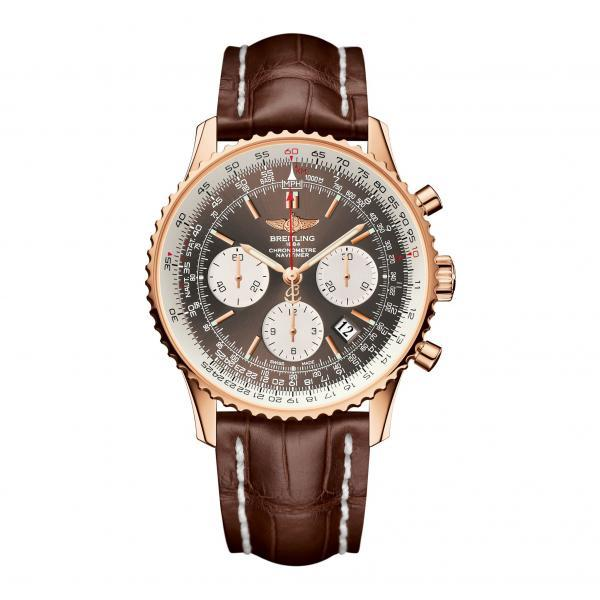Breitling Navitimer 01 Bronze Leather (Crocodile)