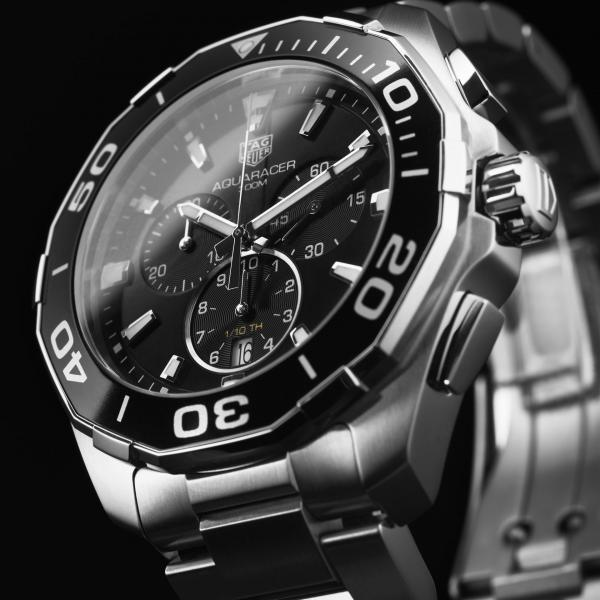 TAG Heuer Aquaracer Quartz (Chronograph) Black