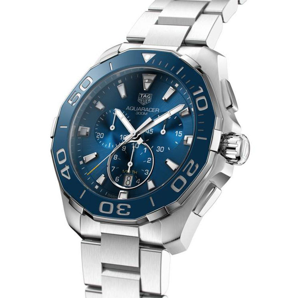 TAG Heuer Aquaracer Quartz (Chronograph) Blue