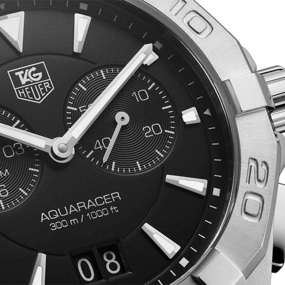 TAG Heuer Aquaracer Alarm Black