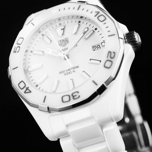 TAG Heuer Aquaracer White Ceramic