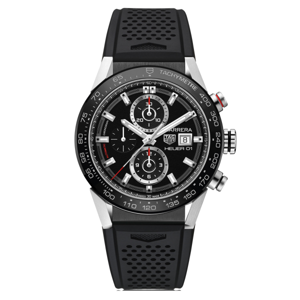 TAG Heuer Carrera 01 Black Automatic