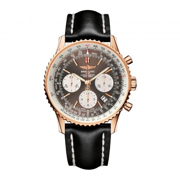 Breitling Navitimer 01 Bronze Leather Tang-Type