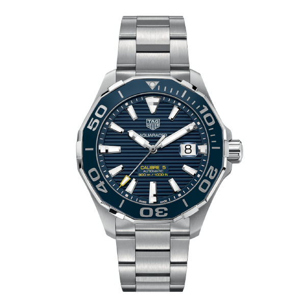 TAG Heuer Aquaracer Calibre 5 Automatic Blue