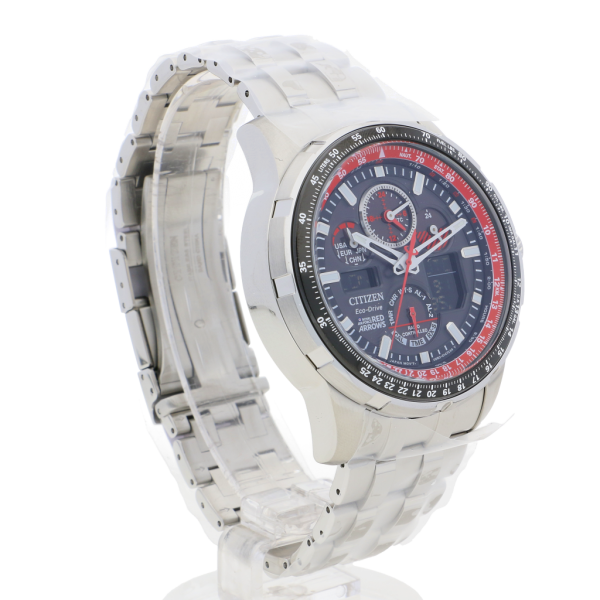 citizen eco drive red arrows watch instructions
