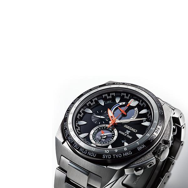 Seiko Prospex World Time Function