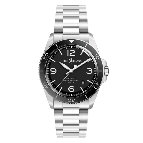 Bell & Ross BR V2-92 Black Stainless Steel