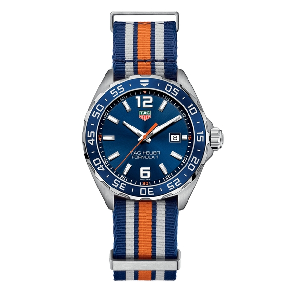 TAG Heuer Formula 1 Blue  Fabric