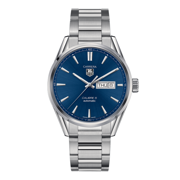 TAG Heuer Carrera Calibre 5 Day-Date Blue