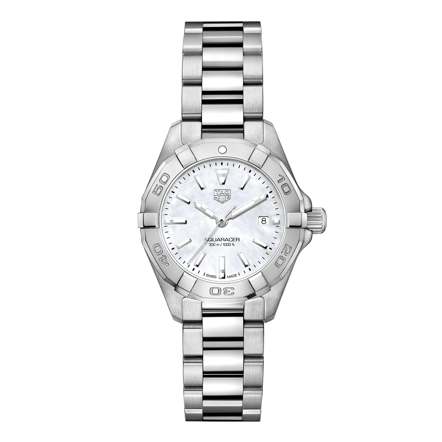 TAG Heuer Aquaracer Mother of Pearl Stainless Steel