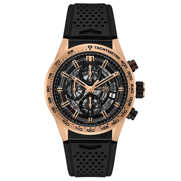 TAG Heuer Carrera 01 Black Chronograph
