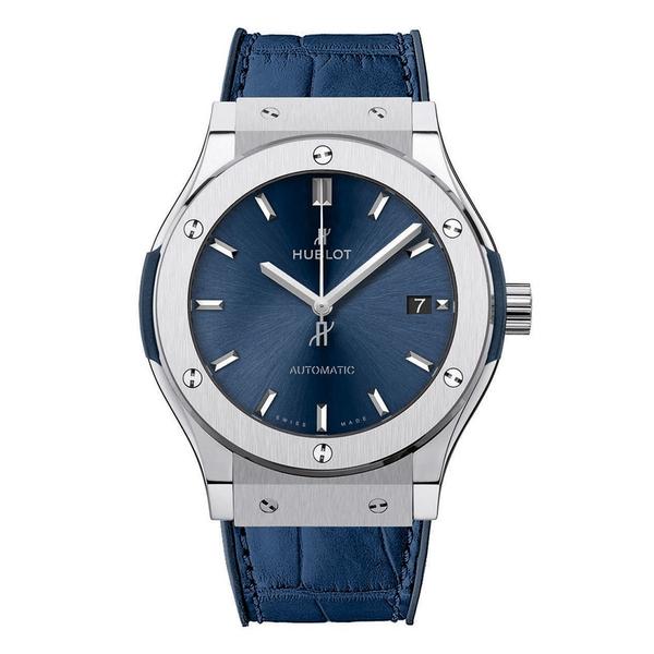 Hublot Classic Fusion Blue Titanium