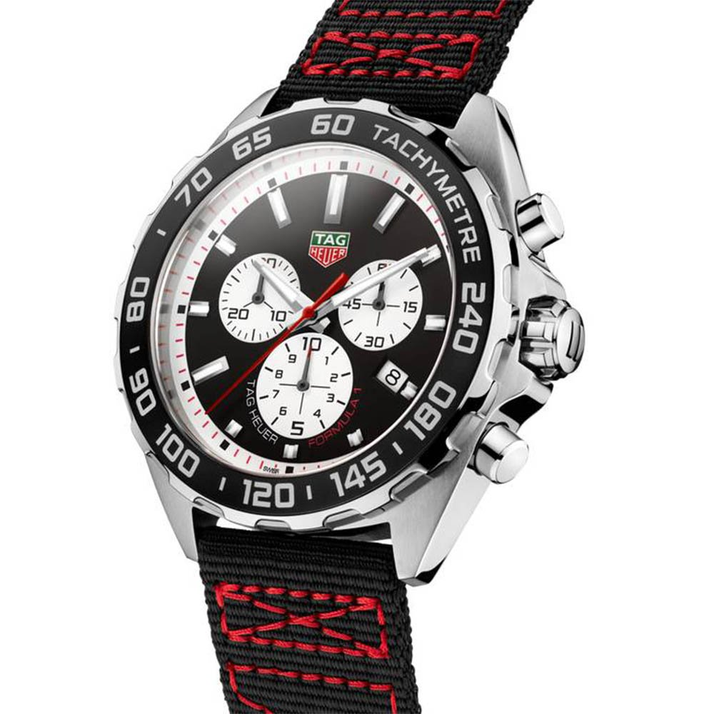 TAG Heuer Formula 1 Chronograph Black Synthetic