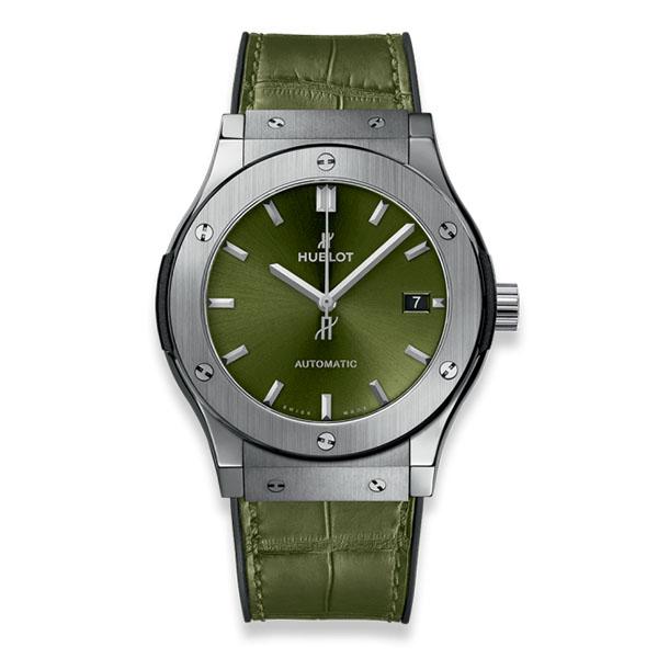 Hublot Classic Fusion Titanium Green