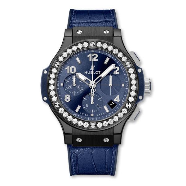 Hublot Big Bang Ceramic Blue Diamonds