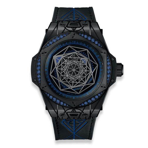 Hublot Big Bang Sang Bleu All Black Blue
