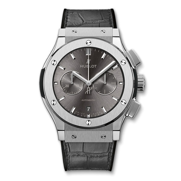 Hublot Classic Fusion Racing Grey Chronograph Titanium