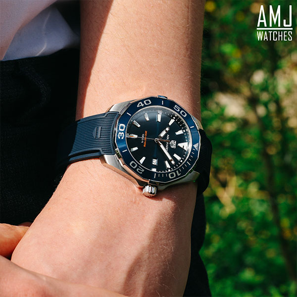 TAG Heuer Aquaracer Quartz Blue