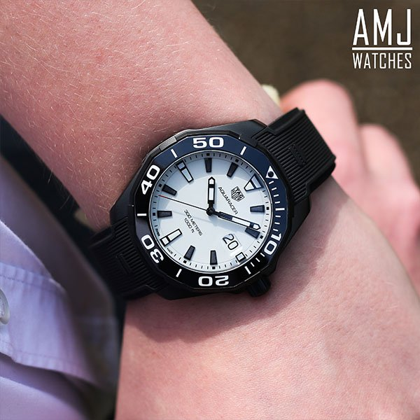 TAG Heuer Aquaracer White Rubber