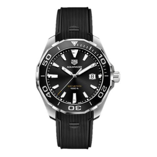 TAG Heuer Aquaracer Black Rubber