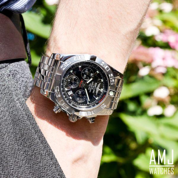 Breitling Chronomat 44 Grey Stainless Steel (Pilot) Folding Clasp