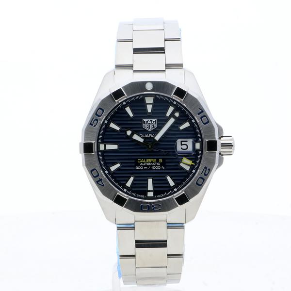 TAG Heuer Aquaracer Calibre 5 Blue