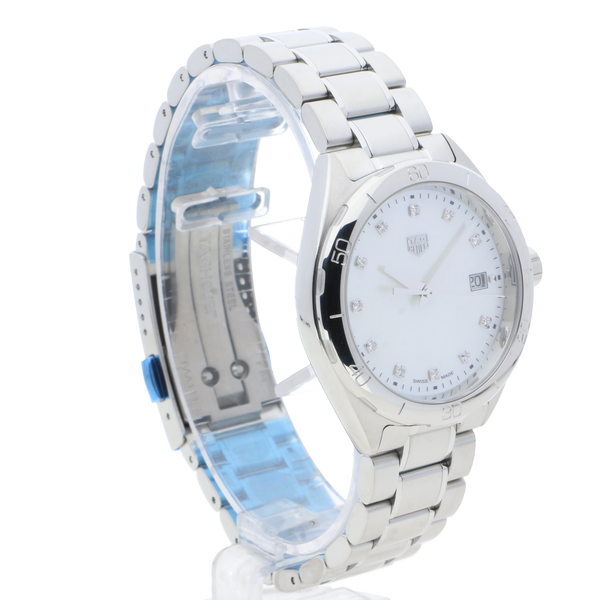 TAG Heuer Formula 1 White, Mother of Pearl, Diamond Dot