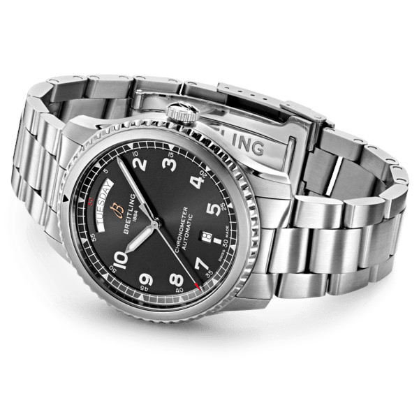 Breitling Aviator 8 Automatic Day Date 41 Folding Clasp