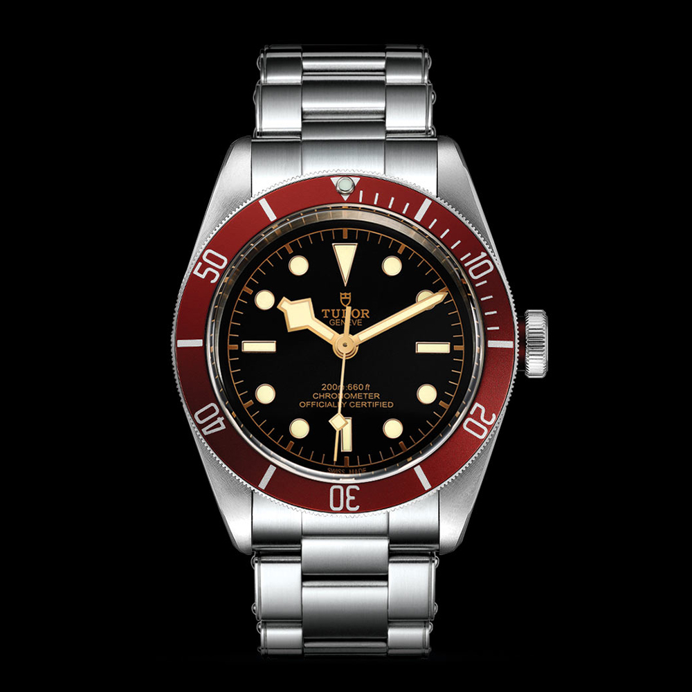 Tudor Black Bay Swiss Dive Stainless Steel Black 41mm Gents Automatic