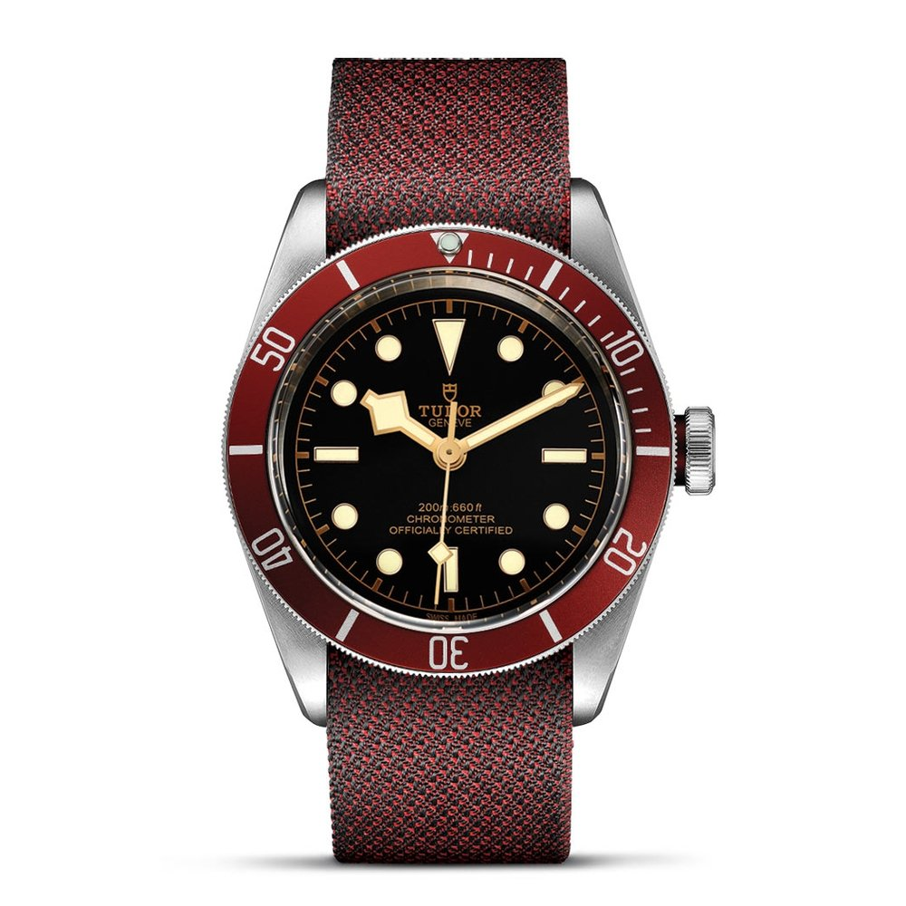 Tudor Black Bay Swiss Dive Fabric Black 41mm Gents