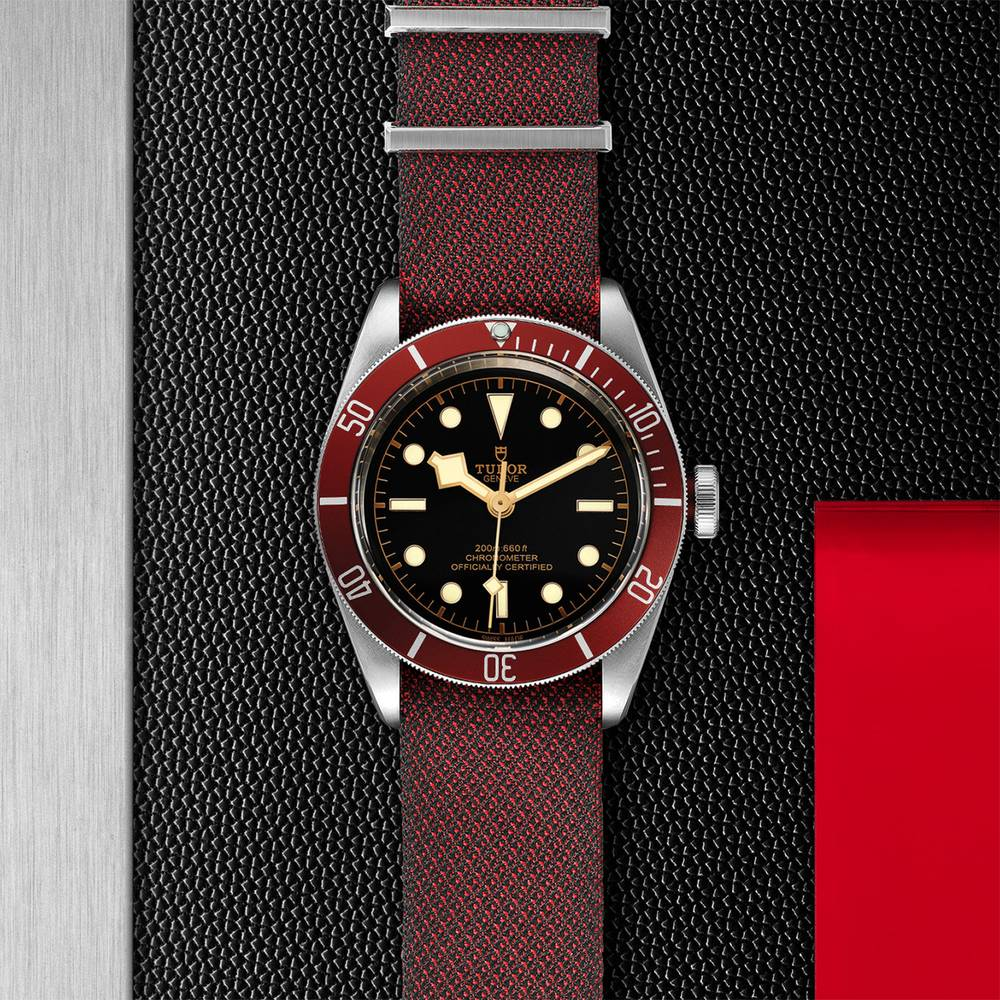 Tudor Black Bay Swiss Dive Fabric Black 41mm Gents