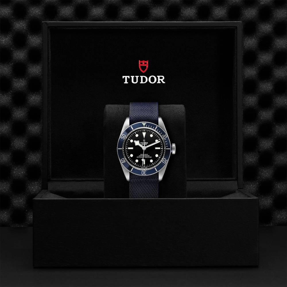 Tudor Black Bay Swiss Dive Fabric Black 41mm Gents Automatic