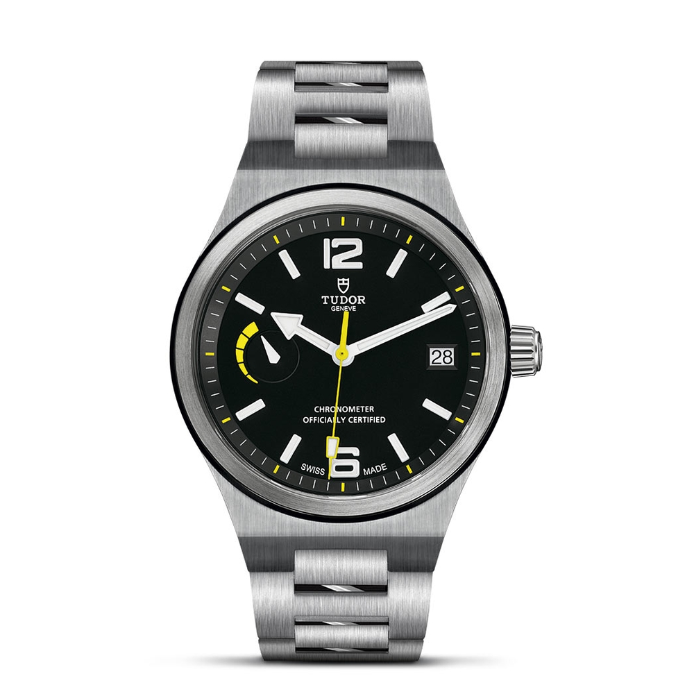 Tudor North Flag Stainless Steel Black 40mm Gents