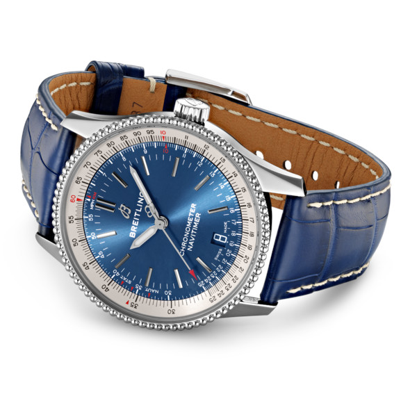 Breitling Navitimer 1 Automatic 38 Tang Type