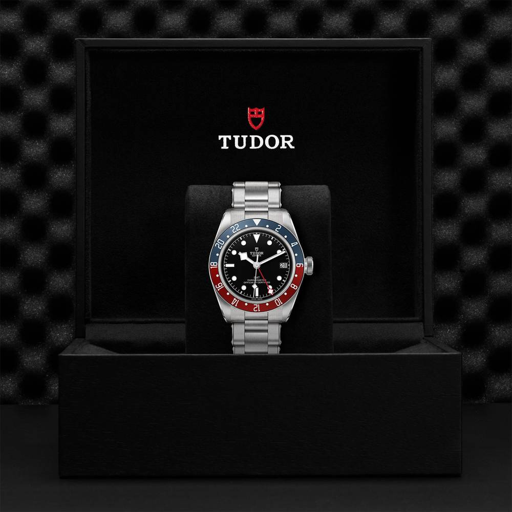 Tudor Black Bay GMT Stainless Steel Black 41mm Gents Automatic