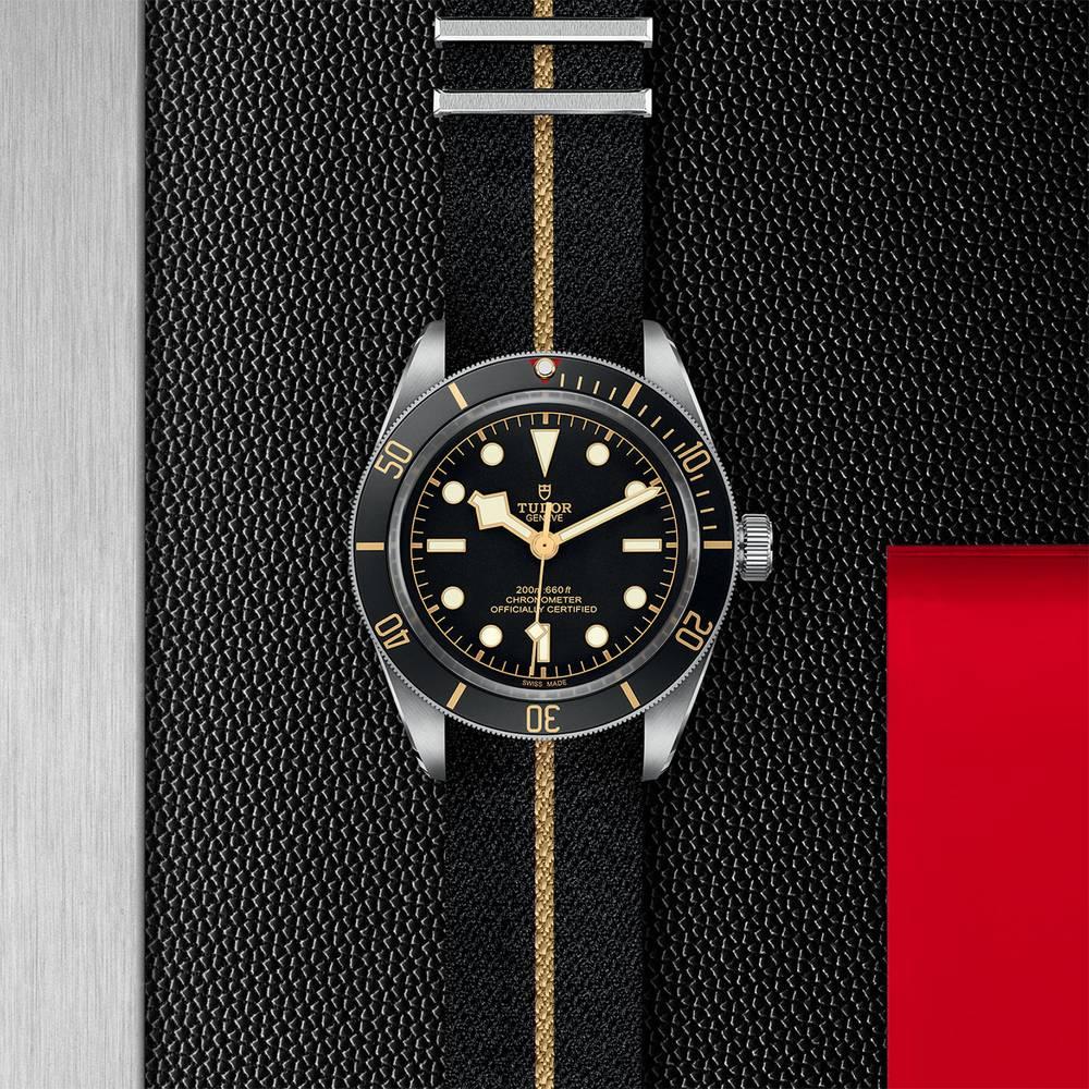 Tudor Black Bay Fifty Eight Fabric Black 39mm Gents Automatic