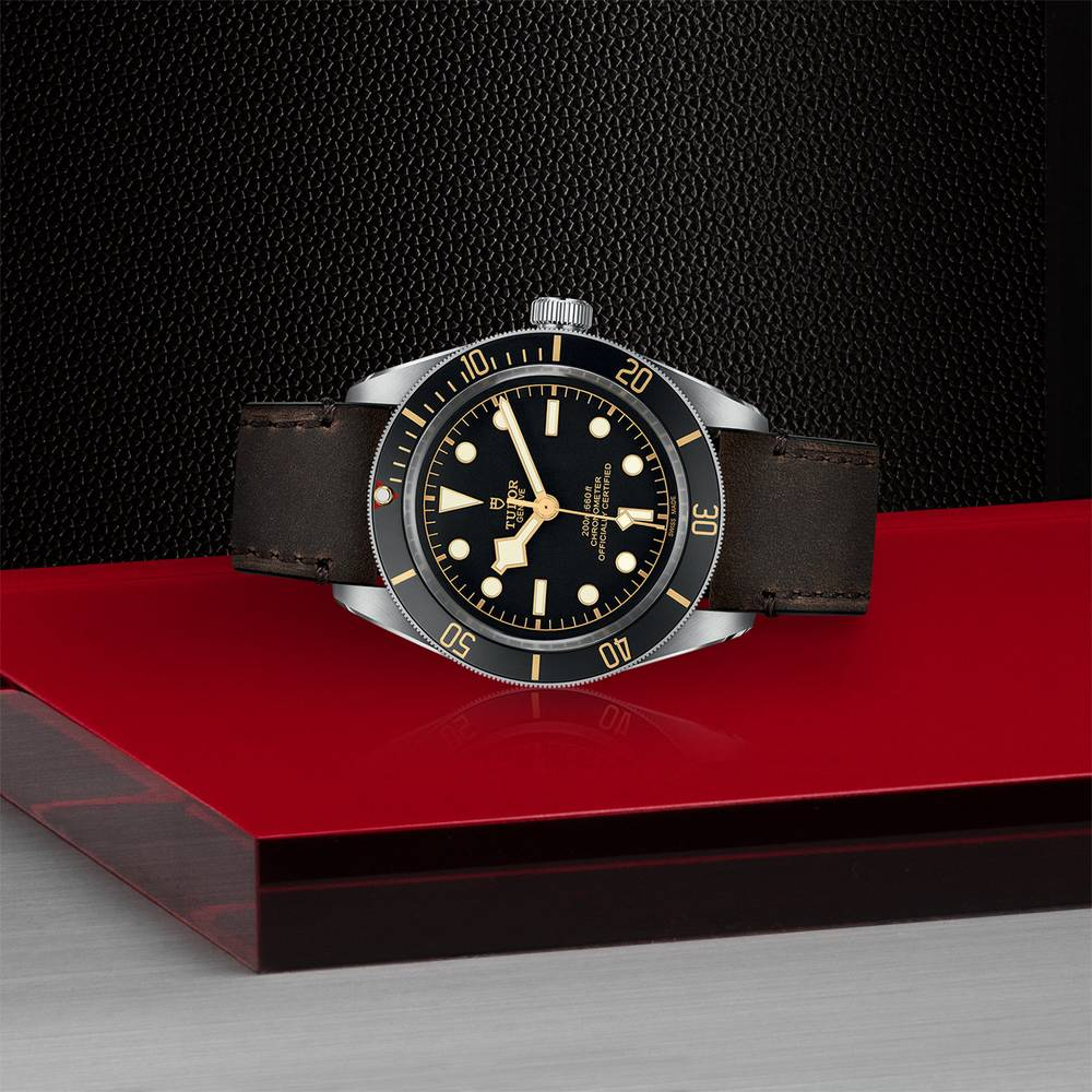Tudor Black Bay Fifty Eight Leather Black 39mm Gents