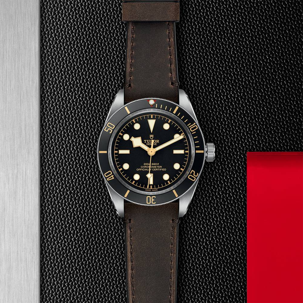 Tudor Black Bay Fifty Eight Leather Black 39mm Gents Automatic