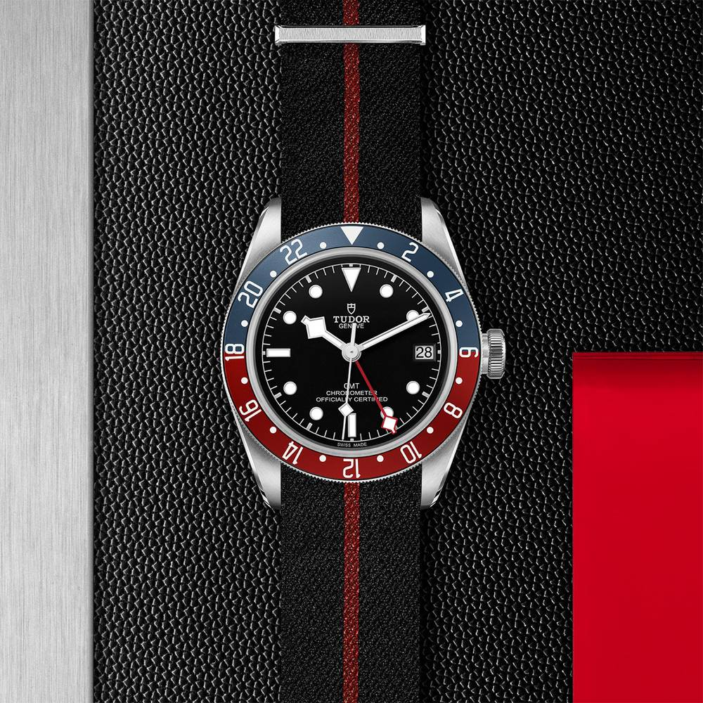 Tudor Black Bay GMT Fabric Black 41mm Gents