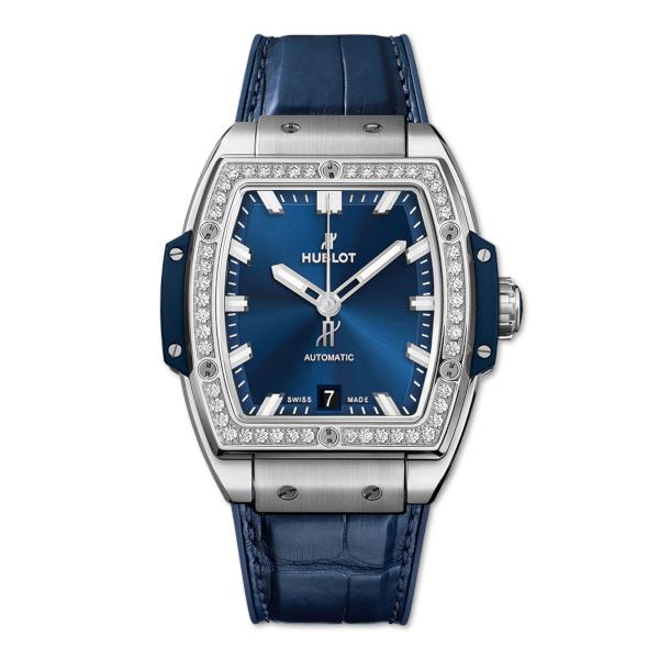Hublot Spirit Of Big Bang Titanium Blue Diamonds